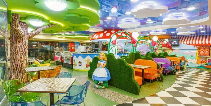 оформление детского кафе