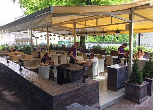 открыть летнее кафе